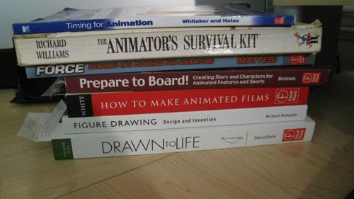 animation books