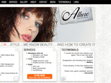 Allure Hair Salons Website