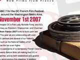 D.C. French Film Festival page
