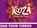 Kooza Contest Video Upload page